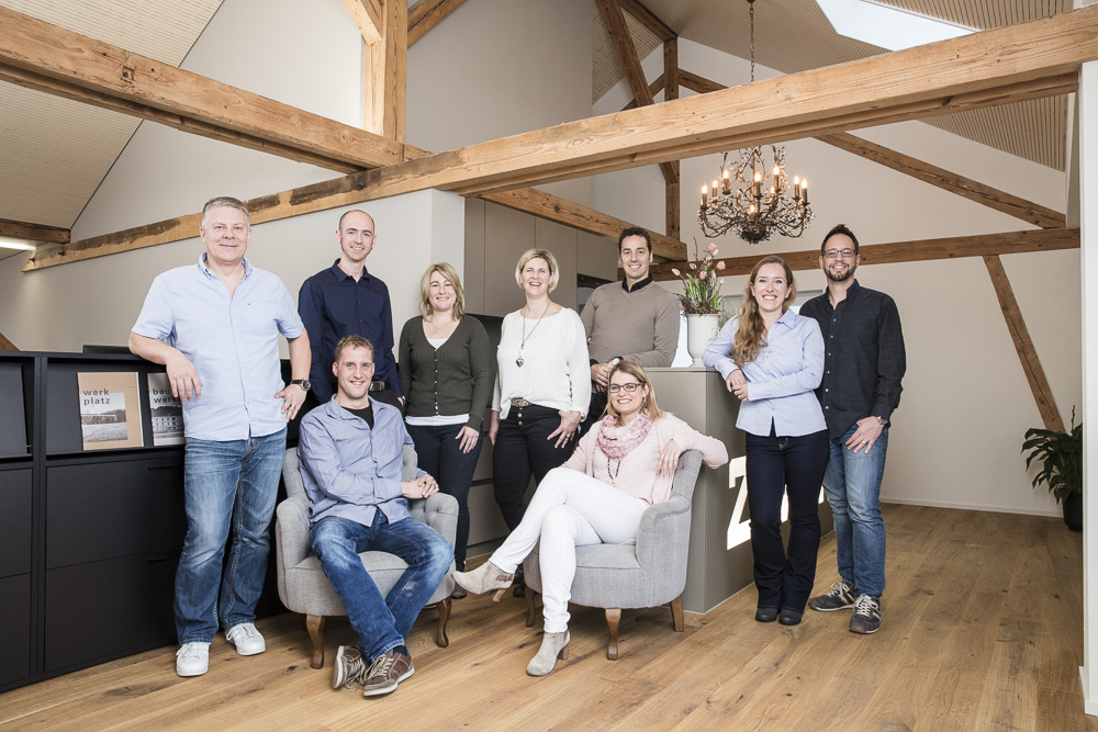 team fotoshooting