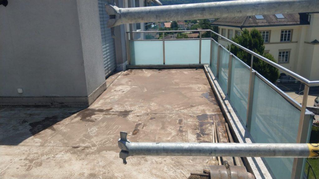 sanierung terrasse, wangen b. olten
