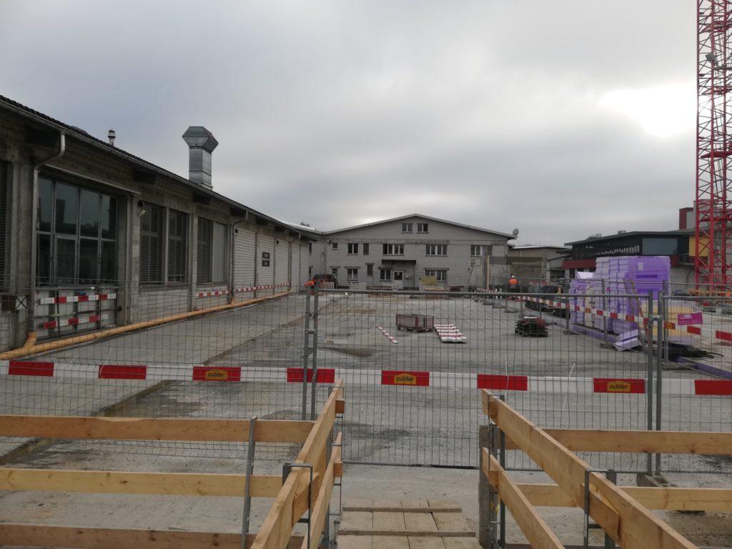 neubau event-halle, schöftland