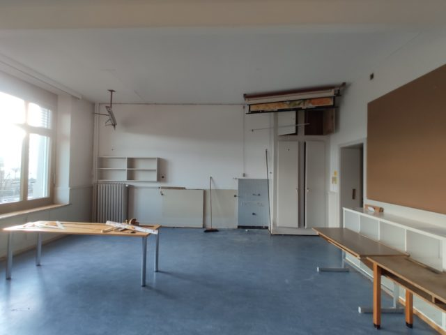 renovation schulhaus central, reinach