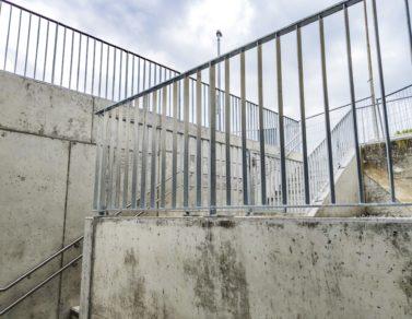 treppenabgang sporthalle bünten, unterentfelden
