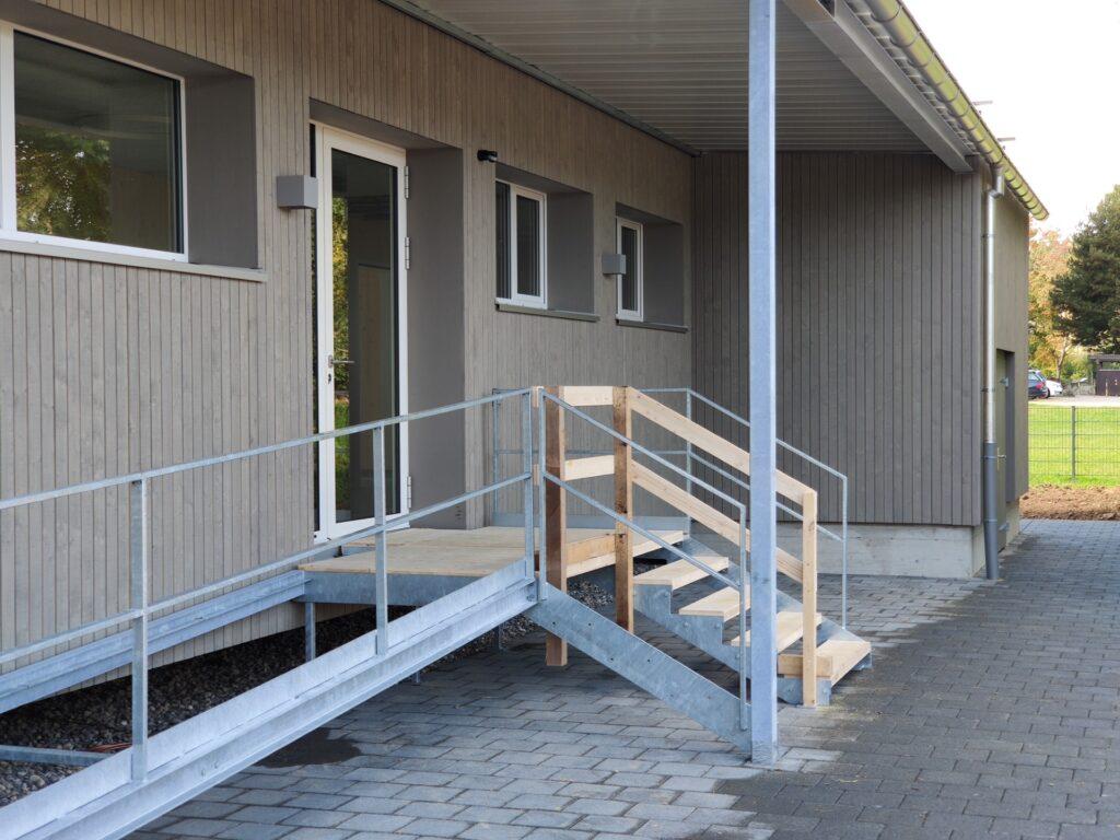 kindergarten pavillon, oberentfelden