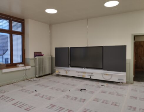 renovation centralschulhaus, reinach