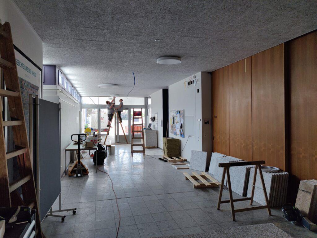 renovation primarschulhaus, safenwil