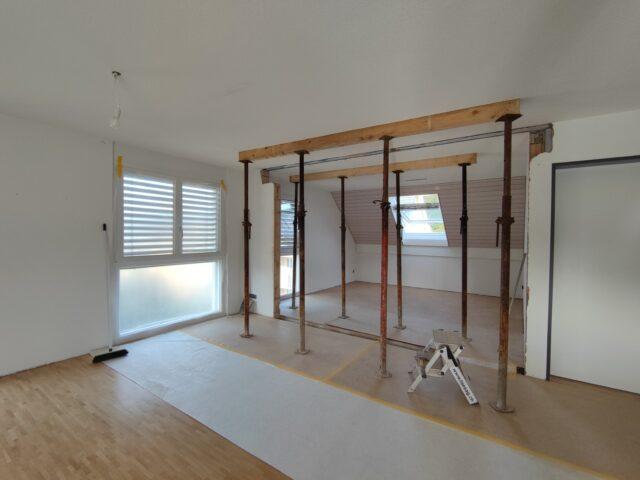 renovation whg, oberkulm